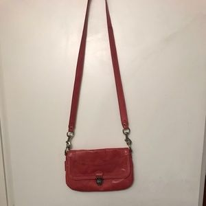 Coach Light Pink Leather Crossbody Bag